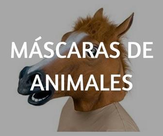 MÁSCARAS DE ANIMALES