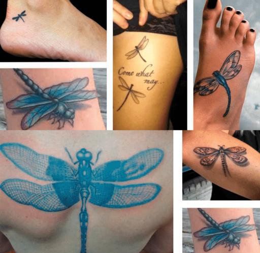 Tatuajes libélulas